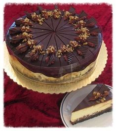 This Coffee Fudge Cheesecake from Back Roads Living is a delicious dessert. More free recipes at Back Roads Living Blog!