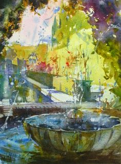 Geoffrey Wynne's web page, member of the Royal Institute of Painters in Watercolour, professional watercolourist.Página web de Geoffrey Wynne, miembro del Royal Institute of Painters in Watercolours, acuarelista profesional. Watercolor Art, Watercolor Water, Art Painting, Art Appreciation, Beautiful Artwork, Watercolor Artists, Painting, Art Pictures, Beautiful Art