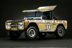 "◆Swiss Stash (Parnelli Jones ""Big Oly"" Bronco)◆ Old Ford Bronco, Early Bronco, Classic Bronco, Classic Ford Broncos, Parnelli Jones, Bronco Sports, Trophy Truck, Car Ford, Vintage Racing"