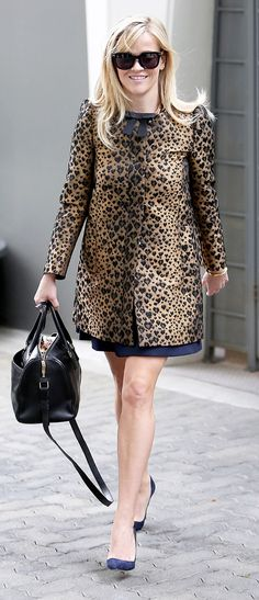 Sarah Jessica Parker and Reese Witherspoon  know that all it takes is a statement coat.