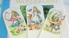 Check out this item in my Etsy shop https://www.etsy.com/uk/listing/533506421/alice-in-wonderland-bookmarks-bookworm