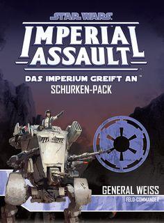 Die Rebellion gehört der Vergangenheit an. Es ist nur noch eine Frage der Zeit und der Feuerkraft. Bringe die technische Überlegenheit und taktische Genialität von General Weiss, Feldkommandeur in deine Imperial Assault-Spielwelt. Mit...