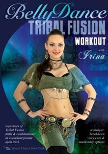 The Tribal Fusion Bellydance Workout, with Irina | World Dance New York