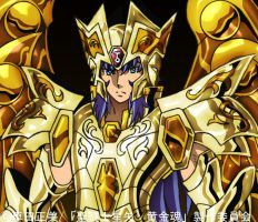 Saint Seiya Soul Of Gold - Saga by SONICX2011