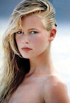 Young Claudia Schiffer