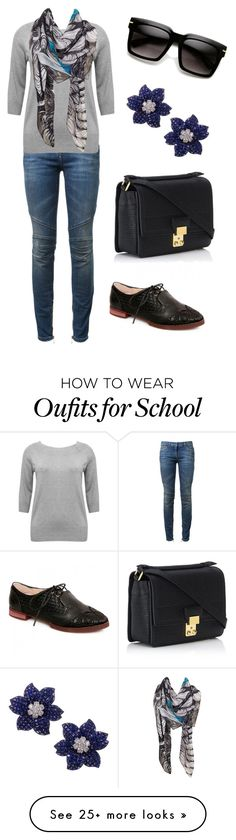 """School day"" by kjmazeltov on Polyvore featuring Balmain, M&Co and 3.1 Phillip Lim"