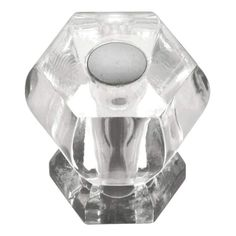 View the Hickory Hardware HH74688 Crystal Palace 1-3/16 Inch Diameter Geometric Cabinet Knob at PullsDirect.com.
