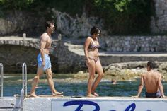 Jamie Dornan and Amelia Warner swimming at Paloma Beach, France on July 14, 2016 http://www.everythingjamiedornan.com/gallery/thumbnails.php?album=304