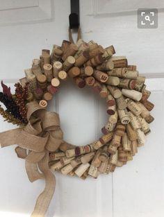Coronas con tapón de vino
