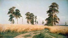 Iwan Iwanowitsch Schischkin - Field of Rye