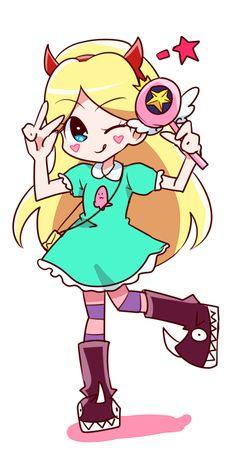 gonna get a lil weird, haikaburihime: star butterfly Cartoon Tv, Cartoon Shows, Cartoon Characters, Chibi, Illustration Kawaii, Power Of Evil, Starco Comic, Star Y Marco, Princess Star