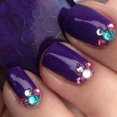 Purple and bejeweled