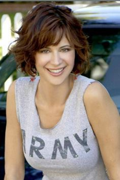 catherine bell hair   Catherine Bell (Army Wives/JAG) More