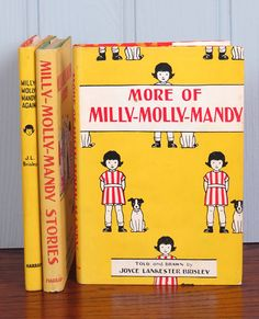 I always wanted all of the Milly Molly Mandy books ever since I discovered them in my previous school's library when I was ten