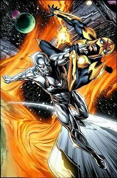 Silver Surfer vs. Nova