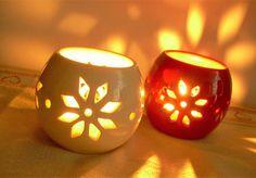 Karácsonyi mécsestartók Pumpkin Carving, Pottery, Clay, Ceramics, Art, Ceramica, Clays, Ceramica, Art Background