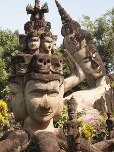 Xieng Khuan Buddha Park #Laos