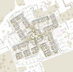 [tp3] architekten - WMA Haid, 350 Wohneinheiten, 3. Preis