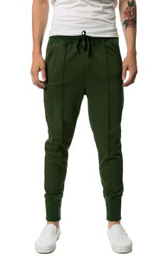The New Standard Edition Pants The Carter Slim Knit Jogger in Olive Green - Karmaloop.com