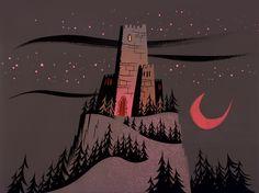 Samurai Jack background art via Scott Wills