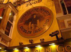 Oliver St. John Gogarty pub in the Temple Bar area of Dublin, Ireland.
