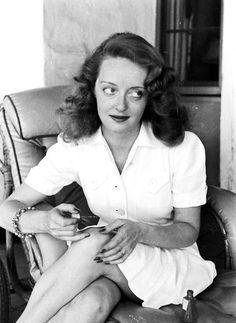 Bette Davis at home, photographed by Alfred Eisenstaedt for LIFE magazine, 1939