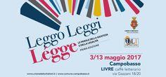 Campobasso Luigi De Magistris il 13 maggio a Leggo Leggi Légge