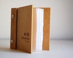 wedding vows book // wood engraved by lorgieandme on Etsy, $15.00