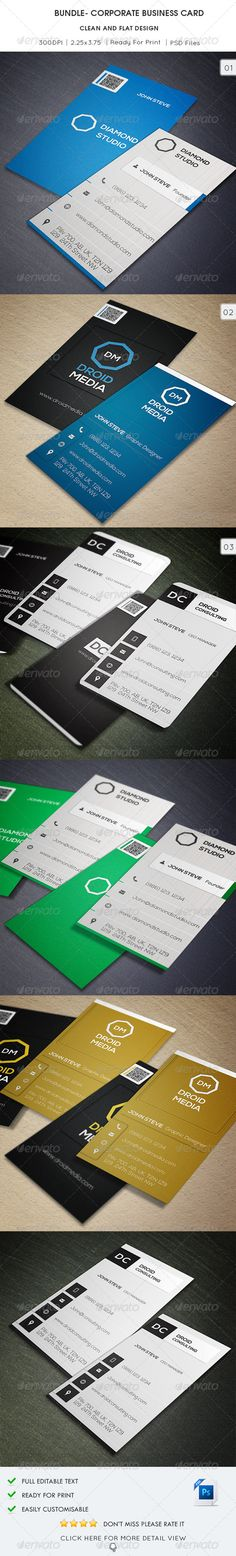 Buy Bundle - Corporate Business Card by oksrider on GraphicRiver. You Can Find Here Single Business Card Included in Bundle… Link Font 1 : nexa-font Link Font 1 : nexa. Corporate Business, Business Cards, Contract Agreement, Web Design, Graphic Design, Background Templates, Name Cards, Print Templates, Creative