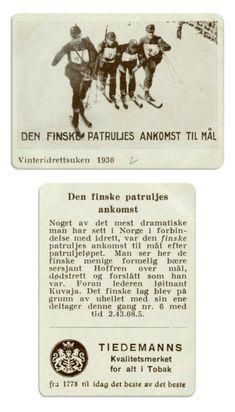 Den finske lag i patruljeløp 1930