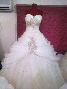 Wedding dress princess