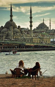 Sit, relax, and enjoy the view in Istanbul, Turkey. A country that gracefully joins two continents.