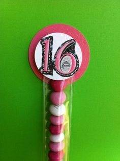 Sweet 16 Party Favor
