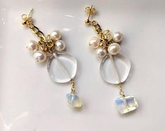 Be mine treasures handmade jewelries by BemineTreasures Handmade Jewelry, Unique Jewelry, Handmade Gifts, Pearl Earrings, Drop Earrings, One More Step, Etsy Seller, Trending Outfits, Search