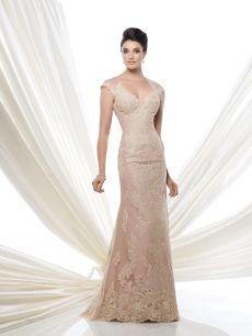 showroom slim wedding dress