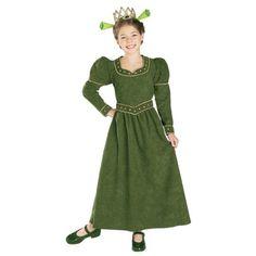Shrek Princess Fiona costume for kids children
