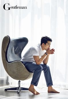 Song Seung Hun - Gentleman Magazine June Issue '14