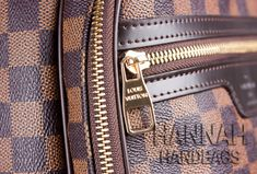 Louis Vuitton Damier Ebene Michael Backpack