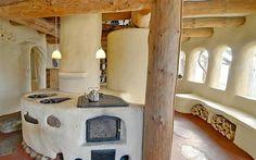 Like the cob kitchen island idea  Galleri for natursamfunn.no-cob houses