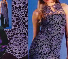 Crochet Sweater: Crochet Tunic - Beautiful & stylish. Free Pattern.