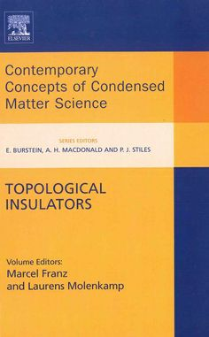 Topological Insulators / Marcel Franz