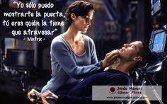 """Aprendiendo de los mejores films: Matrix, 1999 """"Yo sólo puedo mostrarte la puerta, tú eres quien la tiene que atravesar"""""""