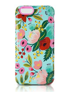 Lenntek Sonix Garden Blooms Floral Blue Case - iPhone 6