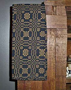 Country Primitive Home Decor Dish Towels Primitive Bedroom, Country Primitive, Weavers Cloth, Prim Decor, Primitive Decor, Primitive Gatherings, Old Quilts, Weaving Patterns, Weaving Techniques