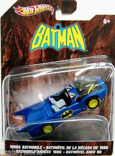 Batman 1980's Animated Series BATMOBILE Hot Wheels 2012 Edition 1:50 Scale