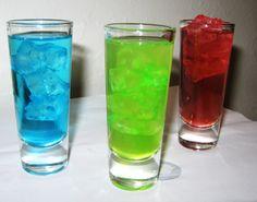 Green, Red and Blue Kryptonite Sampler
