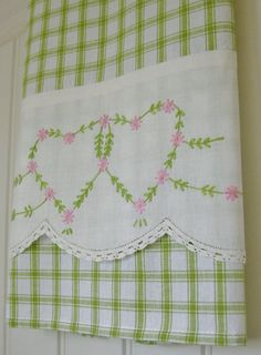 Recycled Vintage Pillowcase to Upcycled Tea by TwoGirlsLaughing