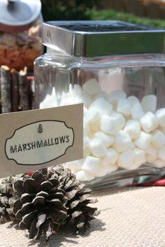"""Camping"" Marshmellows."