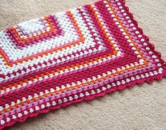 Love this pattern but I am thinking I would have a blue or green instead of pink.