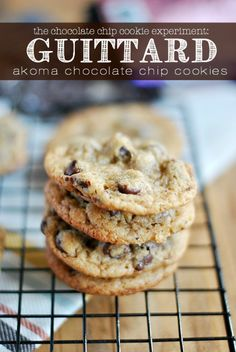 See how these Guittard Akoma Chocolate Chip Cookies weigh in in The Chocolate Chip Cookie Experiment! They're thin and chewy, and chock full...